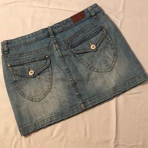 Vigoss denim mini skirt